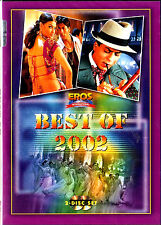 BEST OF 2002 - BOLLYWOOD HIT MOVIE 70 SONG 2 DVD SET- FREE UK POST
