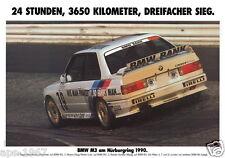 BMW E30 M3 DTM  Motorsport poster print # 22