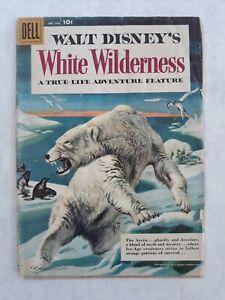 Dell Four Color Comics 943 Walt Disney's white wilderness
