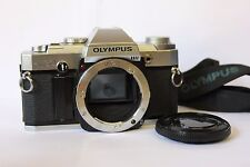 Olympus OM30 35mm SLR Film Camera Body Only. Tested Free Warranty