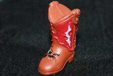 Shopkins Season 2 Shoes Betty Boot Brown Rare 2-109