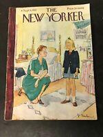 Vtg 1947 September 6 NEW YORKER MAGAZINE