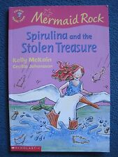 Spirulina and the Stolen Treasure by Kelly McKain paperback book, signed copy