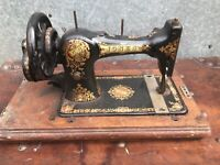 Vintage Jones Handcranked Sewing Machine