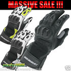 Dririder Pro Summer Sports Touring Leather Gloves for Motorcycle Road Bike Race