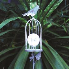 Solar Bird Crackle Palo Luce Giardino Decorazione del Giardino Albero MARTIN PESCATORE PRO