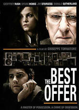 The Best Offer (DVD, 2014) Donald Sutherland,  Sylvia Hoeks, Geoffrey Rush