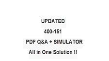 Cisco  400-151  Test QA PDF&Simulator