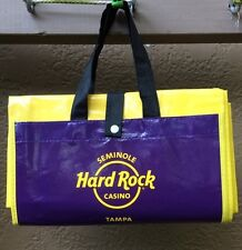 Seminole Hard Rock Casino Collector Tampa FL Table Cloth Stadium Rain Cover?