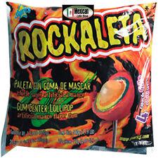 Rockaleta Paleta Bag 20 Lollipops SONRICS MEXICAN CANDY LOLLIPOPNet Wt 16.9-oz