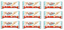 9x FERRERO KINDER BUENO WHITE COCONUT - 39G - CHOCOLATE HAZELNUT WAFER CREAM