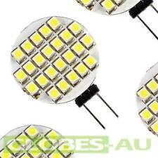 2x 12V G4 COOL WHITE 24 SMD LED Lamp Bulb Car Garden Light Camping Tent Jayco
