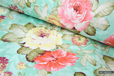 Shabby Chic English Roses 100% cotton fabric 1.6m width sold by meter [1605054]]