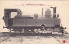 CPA  LOCOMOTIVES ETRANGERES_LOCOMOTIVE-TENDER A 6 ROUES COUPLEES - HOUILLERES