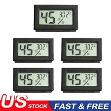 5PCS Digital LCD Indoor Temperature Humidity Meter Thermometer Hygrometer US
