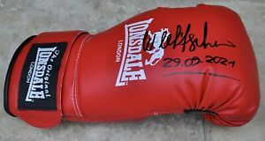 Wladimir Klitschko Signed Lonsdale Boxing Glove With Photo Proof