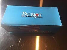 """Box of 5000 Patriot 3"""" Clear Premium Fasteners Tag Attachments"""