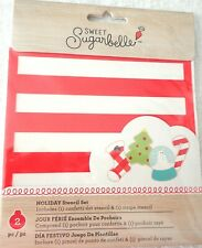 Sweet Sugarbelle American Crafts Holiday Stencil Kit Hand wash / Food safe New
