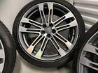 Audi Sq5 Oem Factory Genuine Speedline 21 Gray Machined Wheel Tire Caps Set