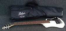 HOFNER HCT-SH-CR SHORTY TRAVEL Electric Guitar CREAM with Gig Bag