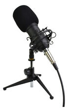 More details for studio recording microphone complete with shock mount & stand -  xlr connection