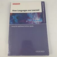 How Languages Are Learned Fourth Edition By Patsy M. Lightbown And Nina Spada