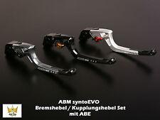 ABM syntoevo BMW S1000 XR ABS K10 2x10 15- Brake Lever Clutch Lever Set with Abe