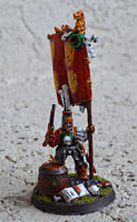 Warhammer Fantasy Empire General Standard Bearer Painted Very Well
