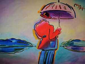 Fine painting signed Peter Max