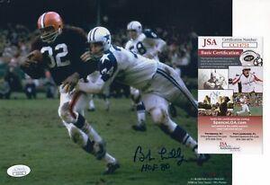 Bob Lilly - Dallas Cowboys - Autographed 8x10 w JSA COA