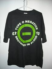 VINTAGE TYPE O NEGATIVE BROTHERS BLOOD 13 CONCERT TOUR T-SHIRT XL STEELE GOTH