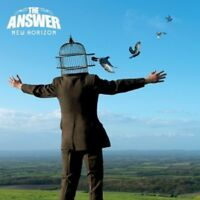 THE ANSWER - NEW HORIZON (LIMITED DIGIPACK)  CD 13 TRACKS PROGRESSIVE ROCK NEU
