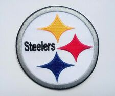 "Pittsburgh Steelers Embroidered 3"" Iron On Patch"