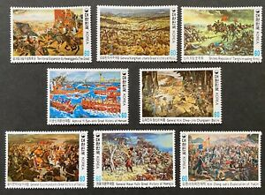 .South Korea 1982 Historical Documentary Paintings, War Battle Victory