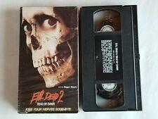 Evil Dead 2 Horror Vhs Tape In Original Box Bruce Campbell 1998 Anchor Bay