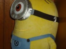 "Plush 13"" Yellow and Blue Universal Despicable Me Stuart One Eye Minion"