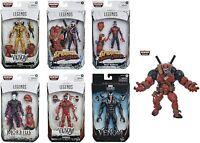 IN STOCK! Marvel Legends Venom Wave Venompool BAF Set of 6 Figures BY HASBRO