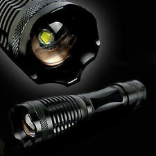 Tactical 5000 Lumens LED 5 Modes Focus Zoom Flashlight Torch Lamp
