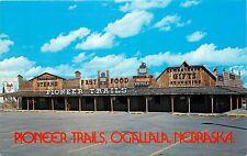 Pioneer Trails Ogallala Nebraska Blazer Steaks Wrangler Bar Fast Food Postcard