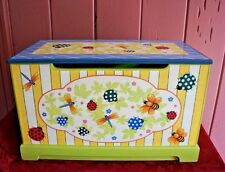 WHIMSICAL NATURE THEMED TOY CHEST