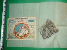 JC531 Vintage Rexall Drug Store Human Hair Net in Original Envelope Art Nouveau