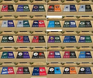 House Divided All-Star Rug 34x45 NFL Colts Sehawks Patriots Packers NFL
