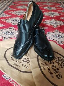 Church's Gent's Monk Strap Shoes 'Piccadilly', Size 8 F.