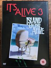 it's ALIVE 3 : Island of the ALIVE ~1986 Culto Diabólico BABY HORROR GB DVD