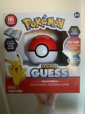 Pokemon Pokeball Trainer Guess Kanto Version - Brand New Guessing Game