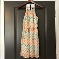 As U Wish Women's Dress Size S Multi Colored