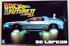 Aoshima 011867 / 059173 DeLorean DMC-12 Zurück in die Zukunft II Bausatz 1:24