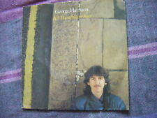 """2 George Harrison 7"""" singles - All Those Years Ago & You"""