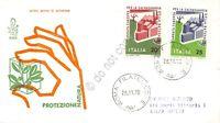 FDC Venetia Italia Repubblica 1970 - Salvaguardia della natura - non viaggiata