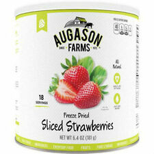 Augason Farms Emergency Food Freeze Dried Fruit Sliced Strawberries 1 Can